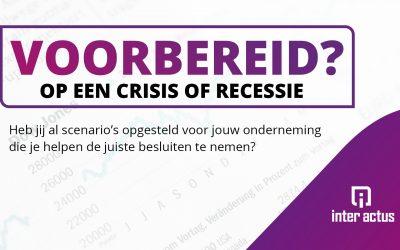 Voorbereid op een crisis of recessie?