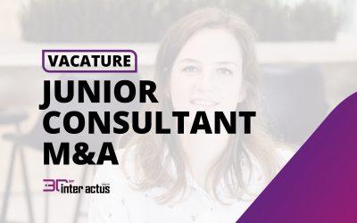 Vacature: Inter Actus zoekt een junior consultant fusie- en overnamepraktijk (M&A)
